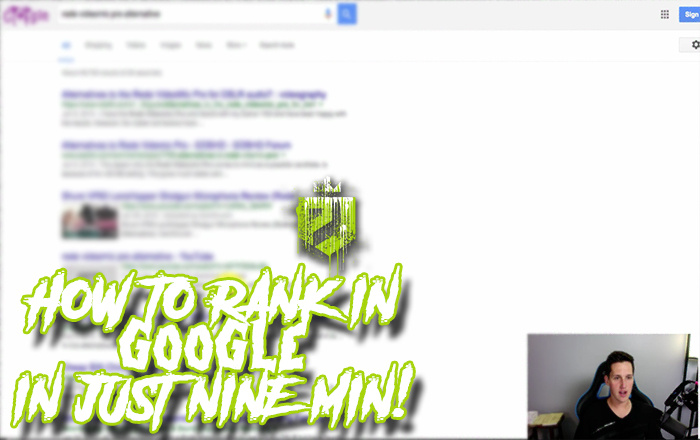 How To Rank In Google In Just 9 Minutes!