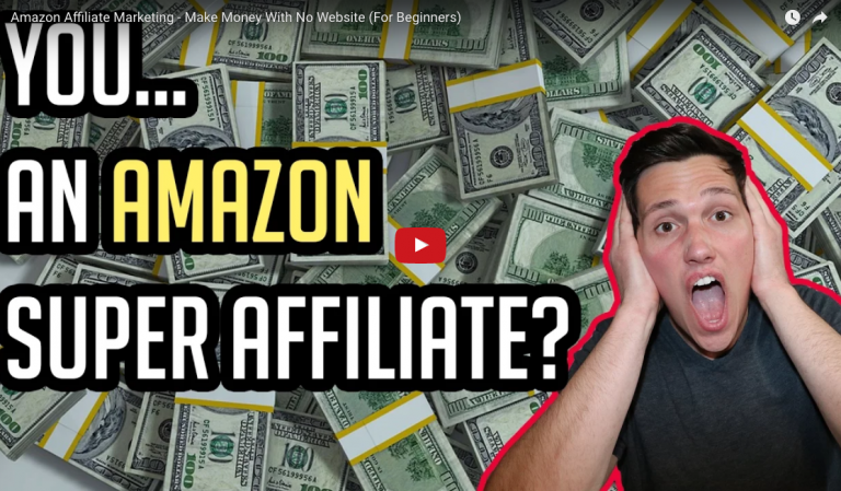 Amazon Affiliate Marketing – No Website Needed